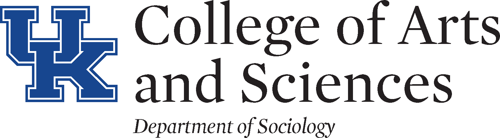 UK College of A&S - Department of Sociology Logo